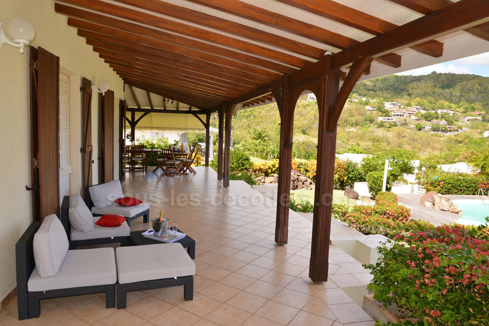 location villa martinique la villa diamant diamant martinique. Black Bedroom Furniture Sets. Home Design Ideas